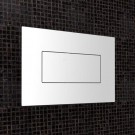 Caroma Invisi™ Series II Metal Rectangular Single Flush Plate & Buttons