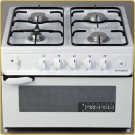 Euromaid Benchtop Gas Oven/Stove Freestanding White MDA200